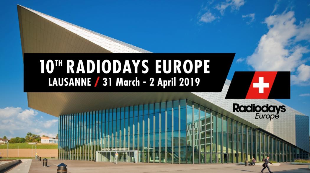 Radiodays Europe 2019 in Lausanne BrandSupport